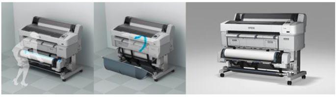 Epson SC-T5200 : Double rouleau