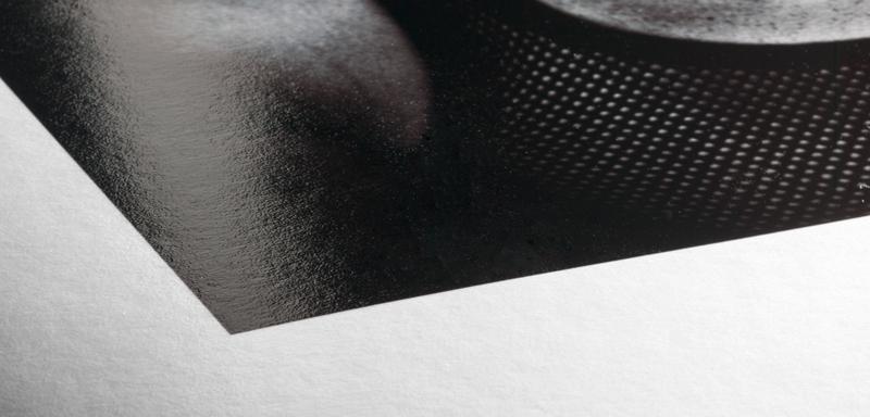 Texture du papier Hahnemuhle Baryta FB
