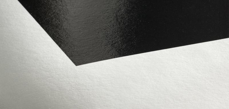 Texture du papier Hahnemuhle FineArt Baryta