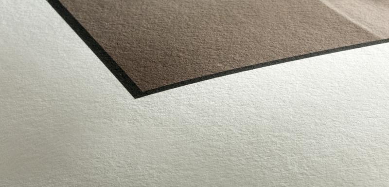 Texture du papier Hahnemuhle Photo Rag