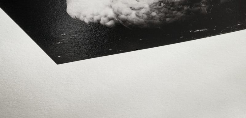 Texture du papier Hahnemuhle Photo Rag Baryta