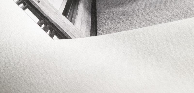 Texture du papier Hahnemuhle Rice Paper