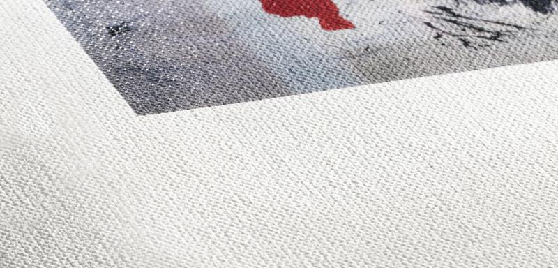 Texture du papier Hahnemuhle Goya Canvas