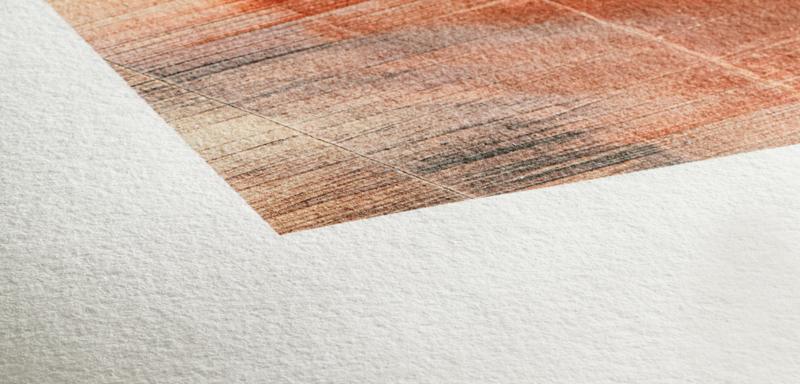 Texture du papier Hahnemuhle Museum Etching