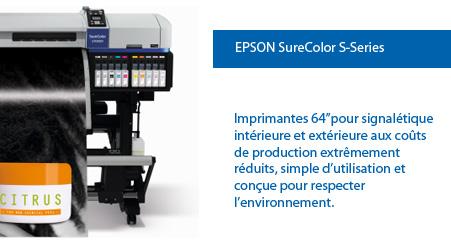 Imprimantes Epson SureColor Serie S