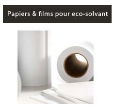 Papiers pour imprimantes eco-solvant